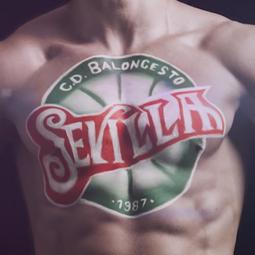 Baloncesto Sevilla – Body Painting